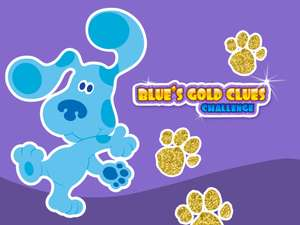 Blue S Gold Clues Challenge Kids Educational Game
