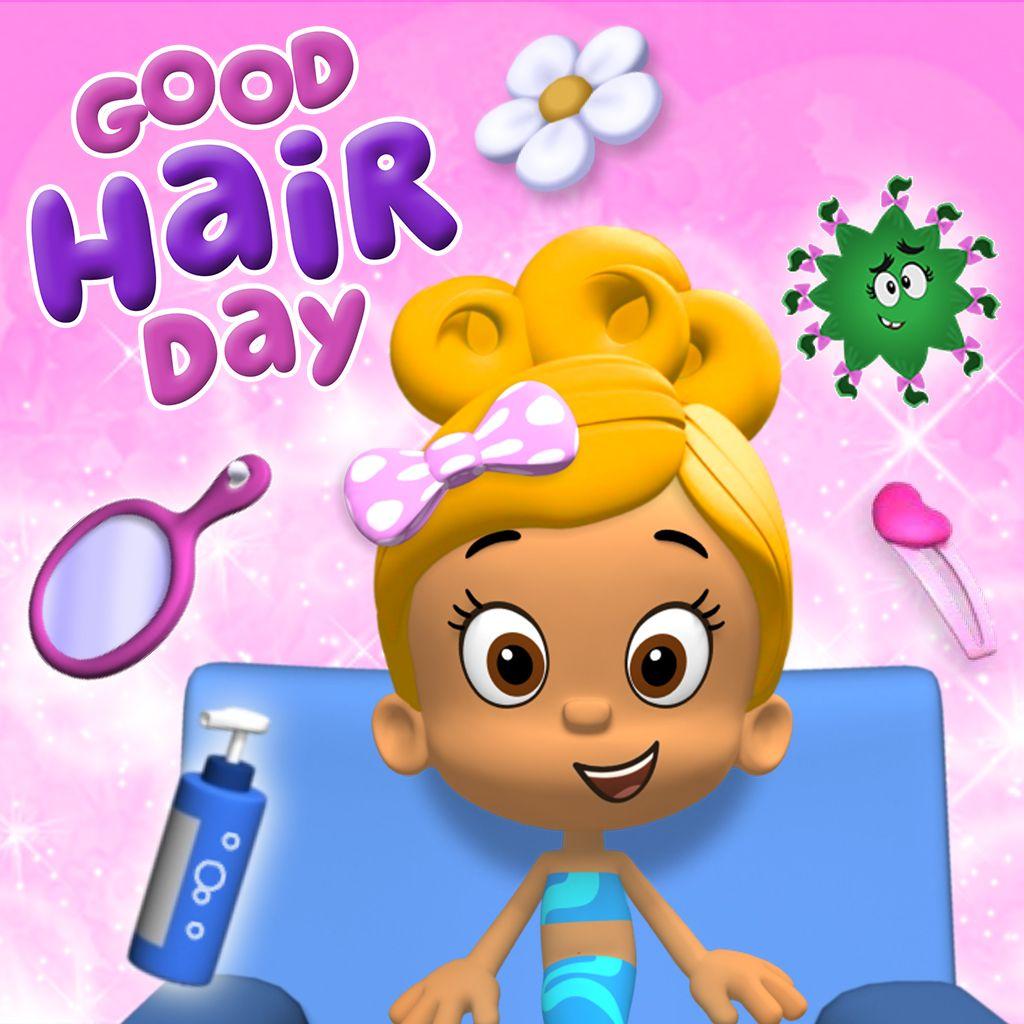 Bubble Guppies Good Hair Day Game | Spefashion