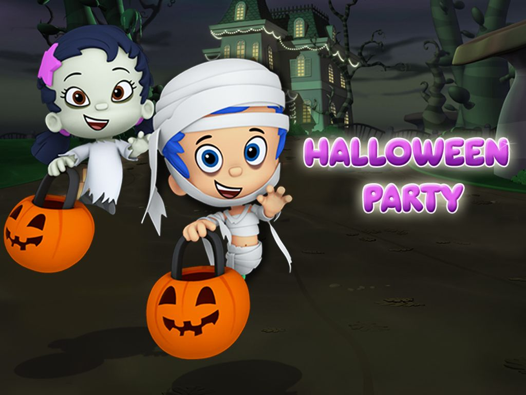 & Halloween Party Game: Preschool Dress Up Game