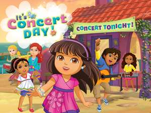 Concert Day Online Kids Game Dora And Friends