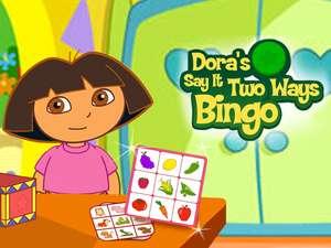 Say It Two Ways Bingo Game Kids Language Learning Game