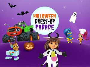 nick jr halloween dress up parade