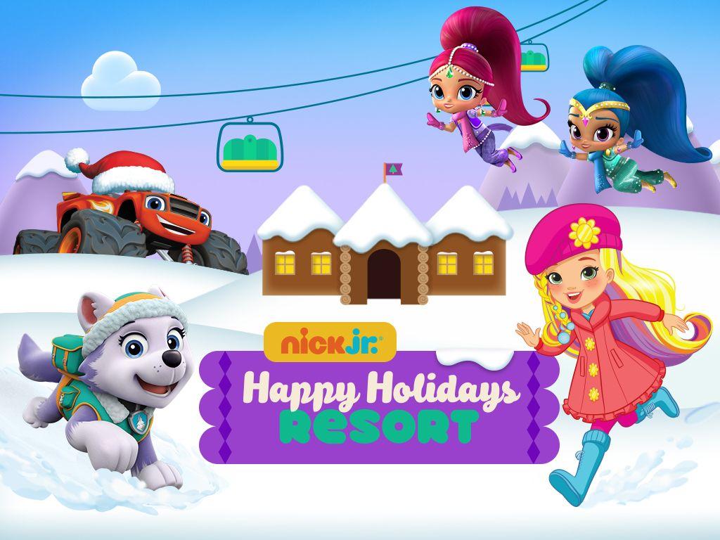 Nick jr holiday games