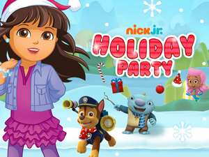 Holiday Party: Nick Jr. Character Adventure Game