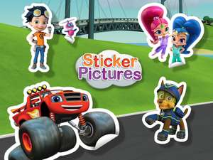 Sticker Pictures: Mix & Match To Create Original Scenes