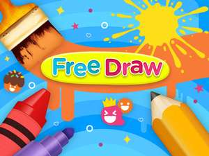 Free Draw Online Art And Creativity Game For Kids