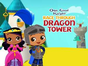 Race Through Dragon Tower: Alphabet Game for Kids