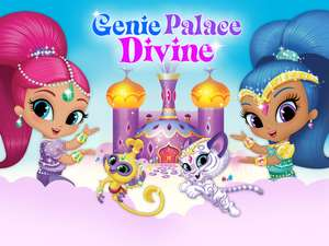 362729c607 Genie Palace Divine Dress Up Game with Shimmer and Shine