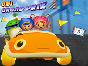 Umi Grand Prix - Car Racing Games - Car Games