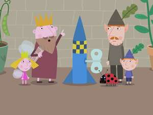 Ben And Holly S Little Kingdom S1 Ep122 The Elf Rocket The