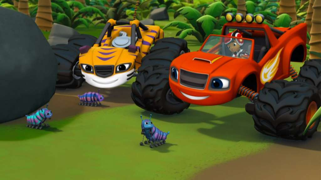 Watch full movie blaze and the monster machines with for Blaze episodi