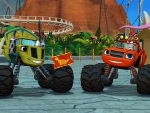 Blaze and the monster machines s3 ep303 dinocoaster full for Blaze episodi