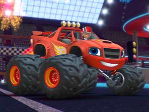 Blaze And The Monster Machines S3 Ep318 Need For Blazing
