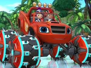 Blaze and the monster machines s4 ep411 power tires full for Blaze episodi