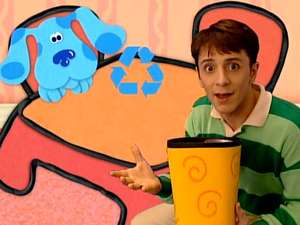 Blue's Clues S2, Ep205 What Does Blue Want To Make Out of ...