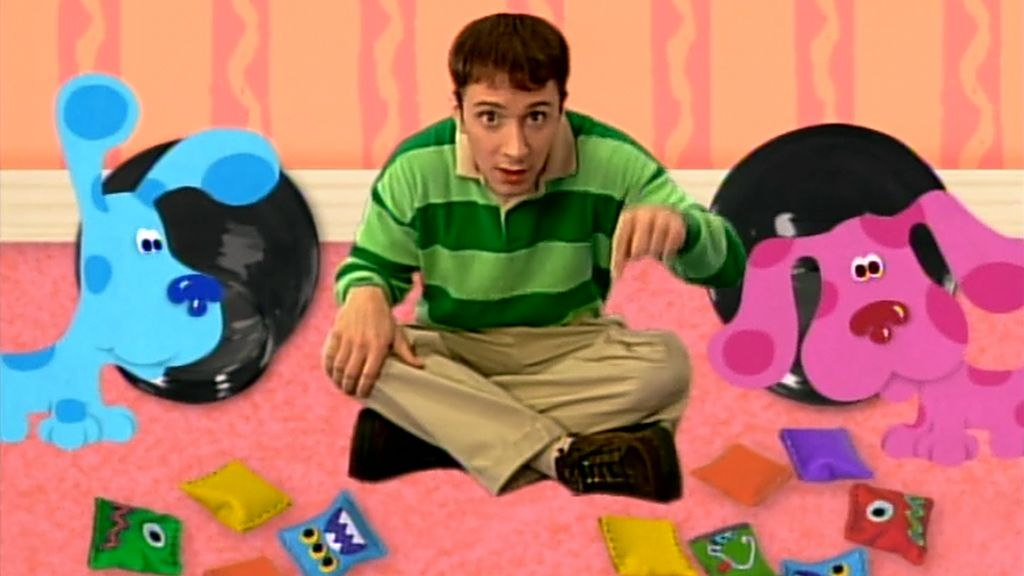 Blues clues gingerbread boy Baby Bear Tahheetchcom Finding The Groceries Blues Clues Video Clip S2 Ep207