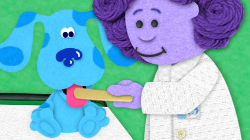 blues checkup blues clues video clip s5 ep512 - Blue Clues