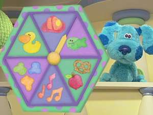 Blue\'s Clues S6, Ep610 Blue\'s Room Snacktime Playdate Full Episode
