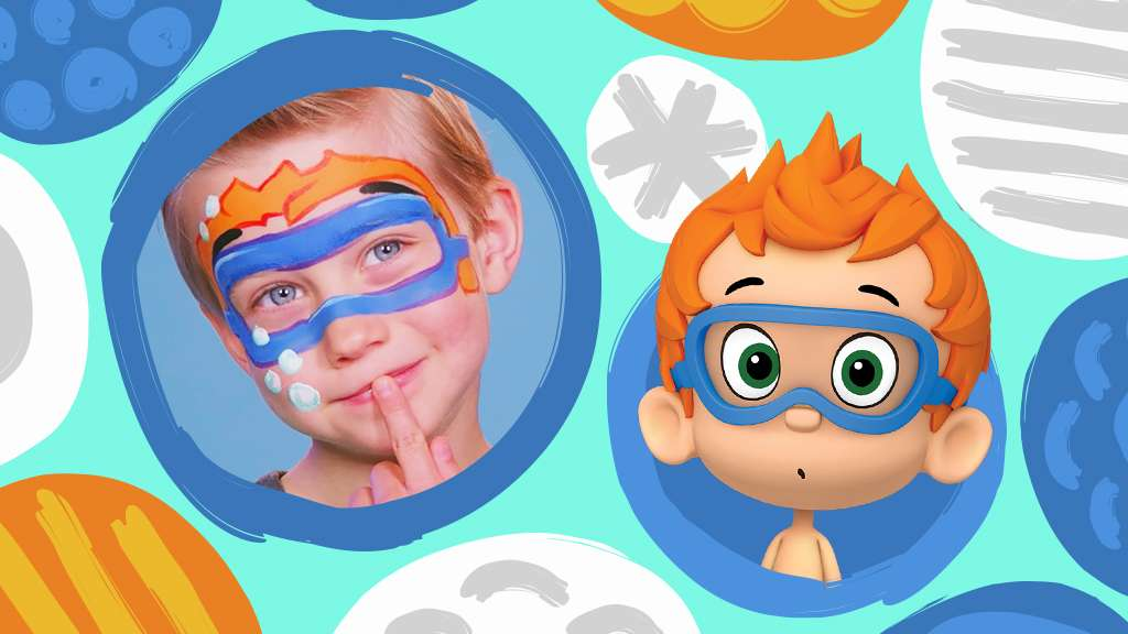 Nick Jr  Face Painting: Nonny