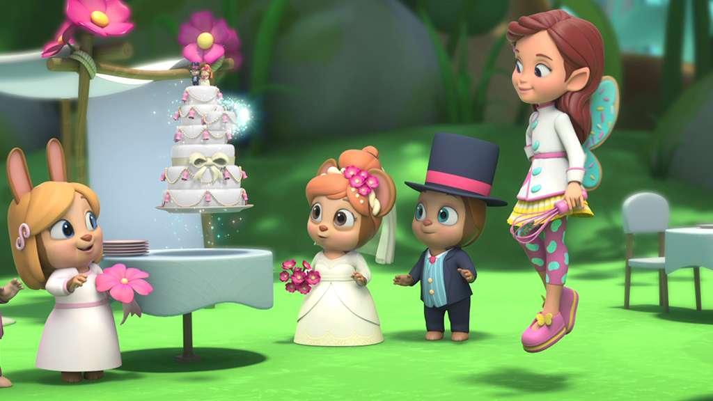 Wedding Cake Switcheroo!