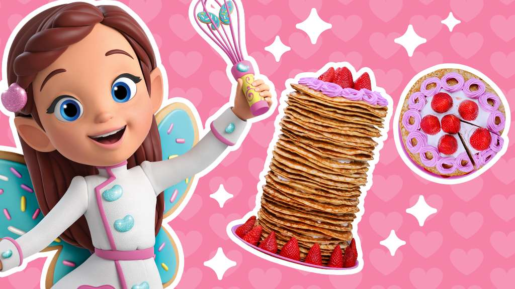 Cooking With Butterbean: Crepe Tower