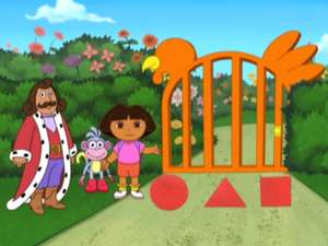 Shape Gate Dora The Explorer Video Clip S4 Ep409