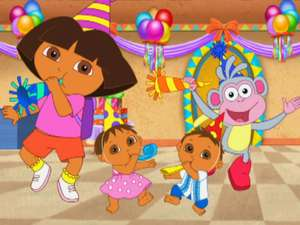 Dora The Explorer S6 Ep602 Happy Birthday Super Babies Full Episode