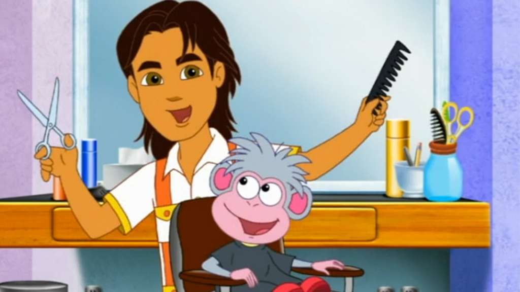 Lets Get Haircuts Dora The Explorer Video Clip S6 Ep603