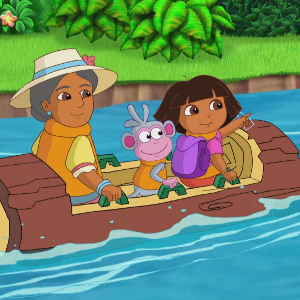 Get a Move On: Dora the Explorer Log Ride