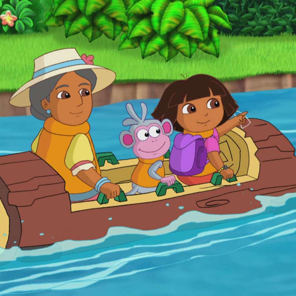 Get a Move On: Dora the Explorer Log Ride