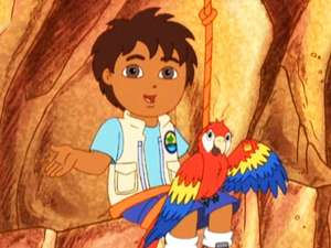 A Save The Mommy Macaw Video Go Diego Go S1 Ep105