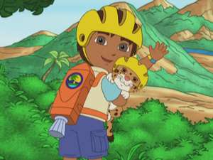 Go, Diego, Go! S1, Ep116 Baby Jaguar to the Rescue Full ...