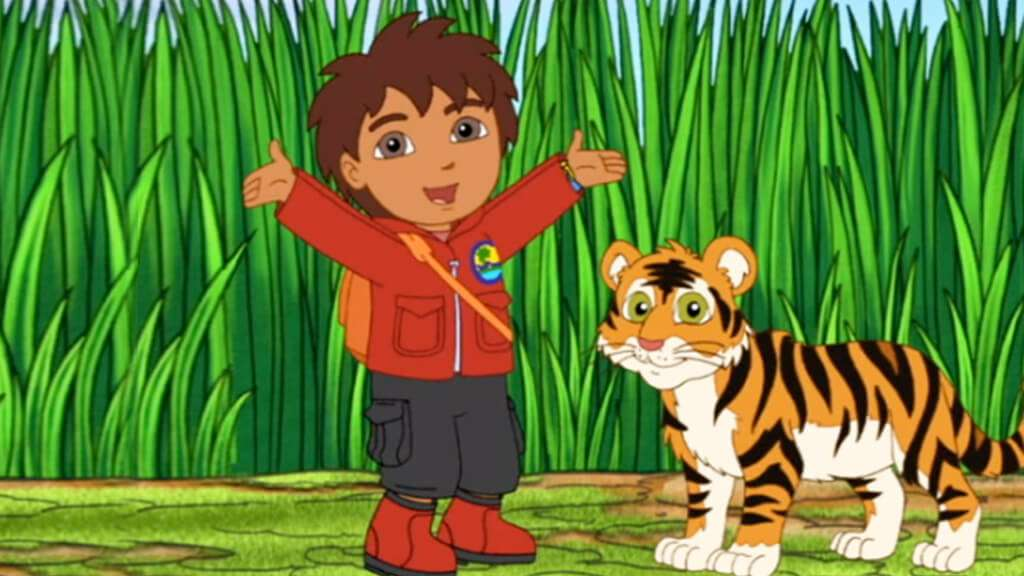 Go Diego Go S4 Ep410 Bengal Tiger Makes a Wish Full Episode