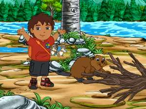 Go Diego Go S4 Ep411 Diego Saves The Beavers Full Episode