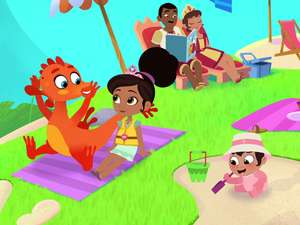 Nella The Princess Knight S1 Ep113 Royally Awesome Beach
