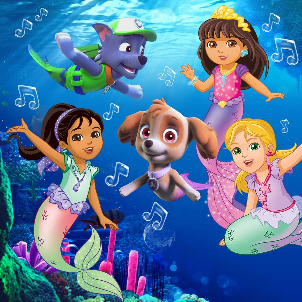 Dora The Explorer Mermaid Sparkle And Twirl Commercial: Dora And Friends/Paw Patrol Mermaid Music Video