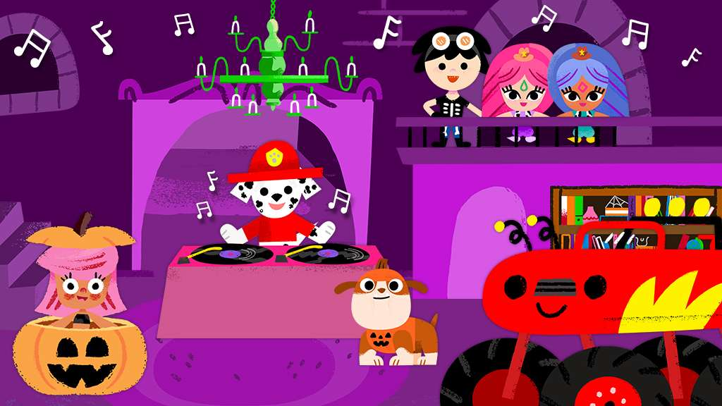 halloween house party song nick jr original music video - Halloween Dance Song