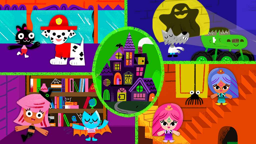 halloween house tour nick jr original video - Halloween House Pictures
