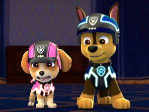 Paw Patrol S4 Ep407 Royally Spooked Pups Save Monkey