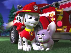 Paw Patrol S4 Ep 418 Pups Save A City Kitty Pup Save A