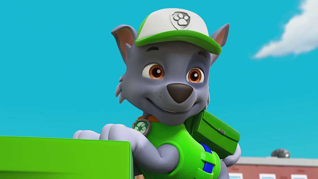 rocky paw patrol  PAW Patrol S5 Ep515 Rocky Saves Himself/Pups and the Mystery of the ...