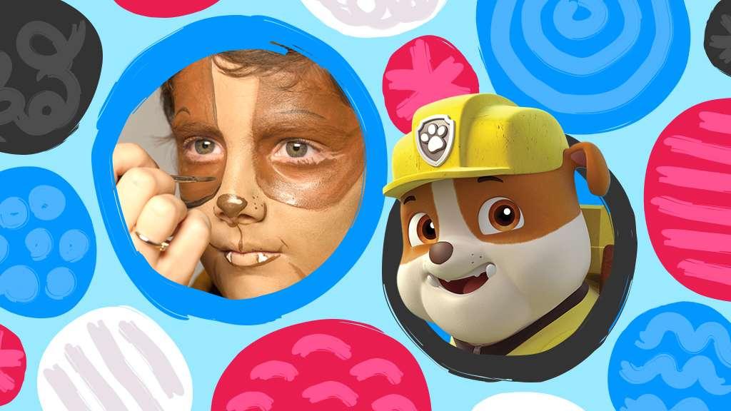 Nick Jr. Face Painting: Rubble, Nick Jr. Original Video