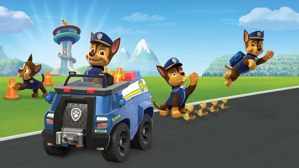 86 Paw Patrol Chase Police Car Nickelodeon Paw