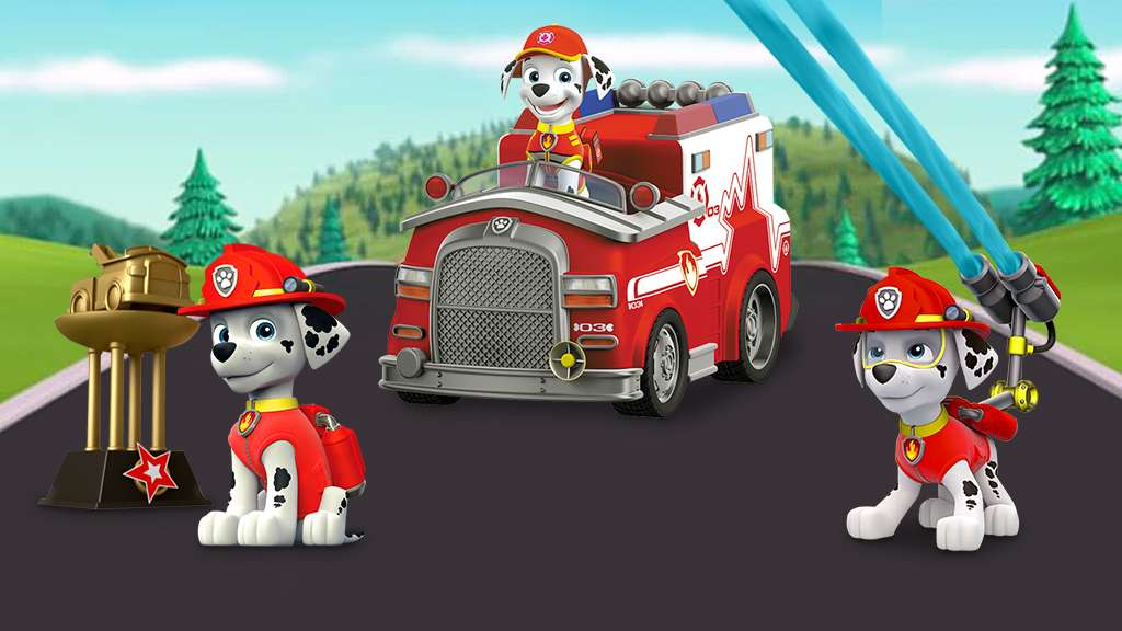 marshall s fire pup practice paw patrol original silly short