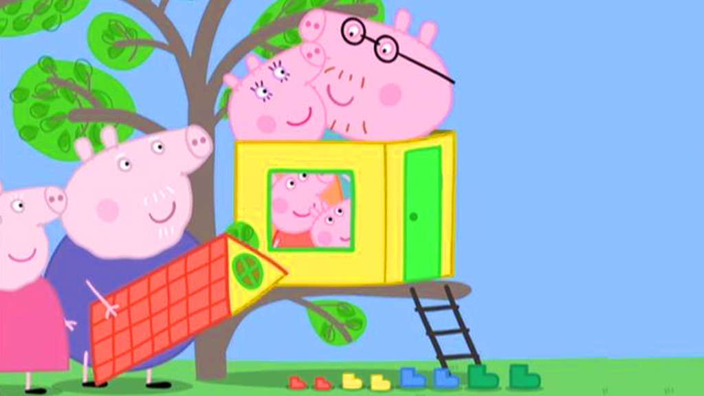 Watch The Treehouse Peppa Pig Video S1 Ep 107