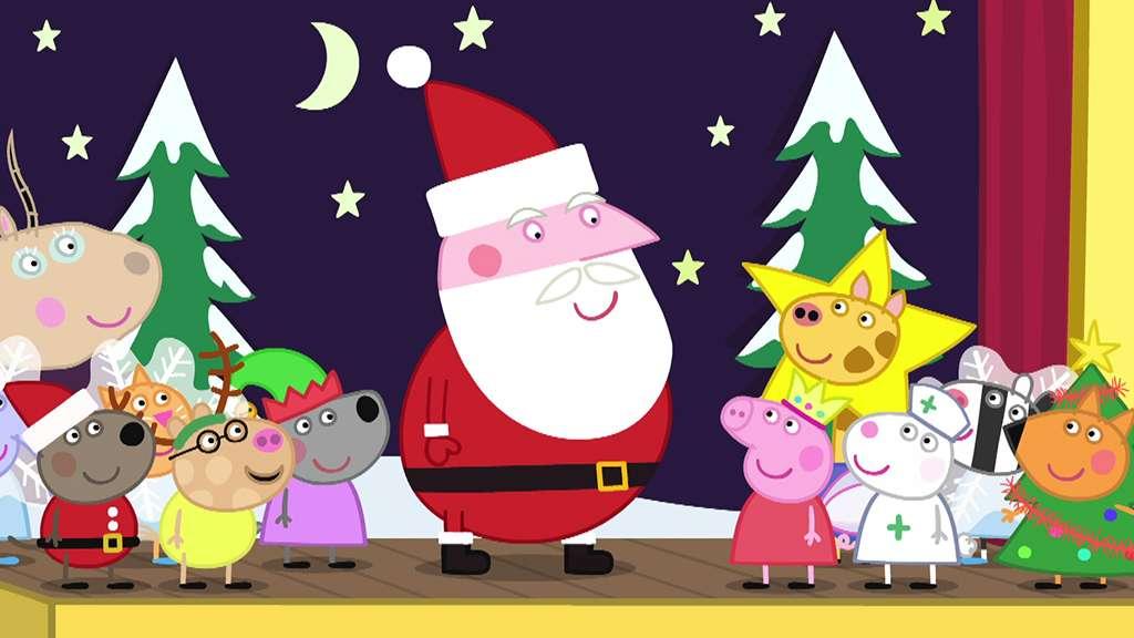 peppa pig s7 ep155 father christmassantas grottosantas visitmr potatos christmas showsnow full episodes