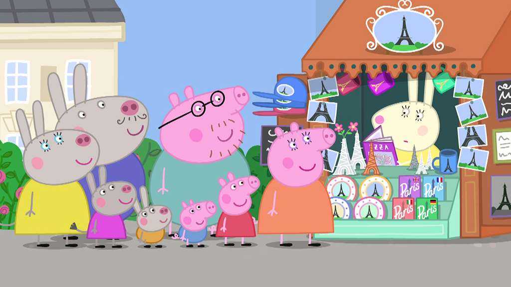 Peppa Learns To Whistle Peppa Pig Video S3 Ep128