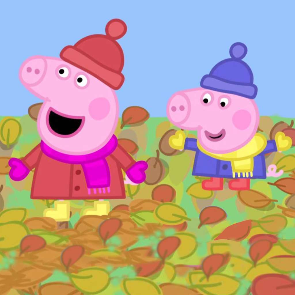 Peppa Pig: Windy Autumn Day