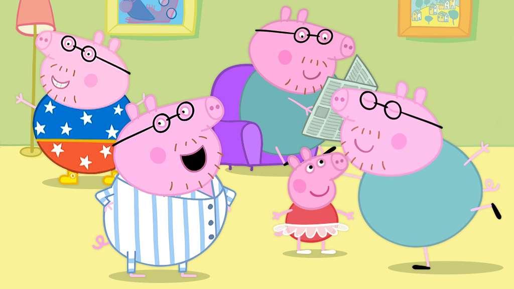 We Love Daddy Pig