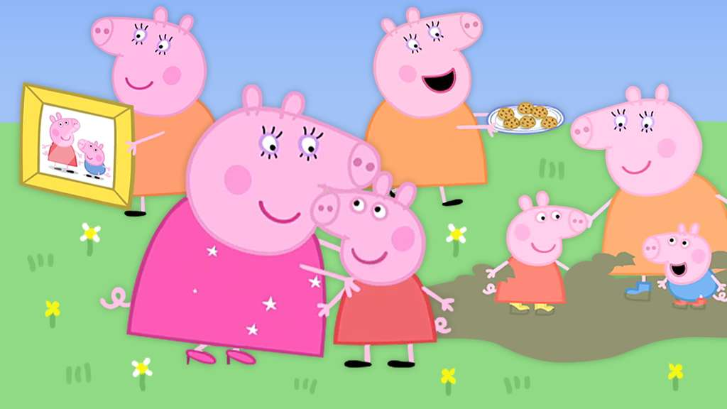 Ode To Mummy Pig Peppa Pig Video Clip Compilation